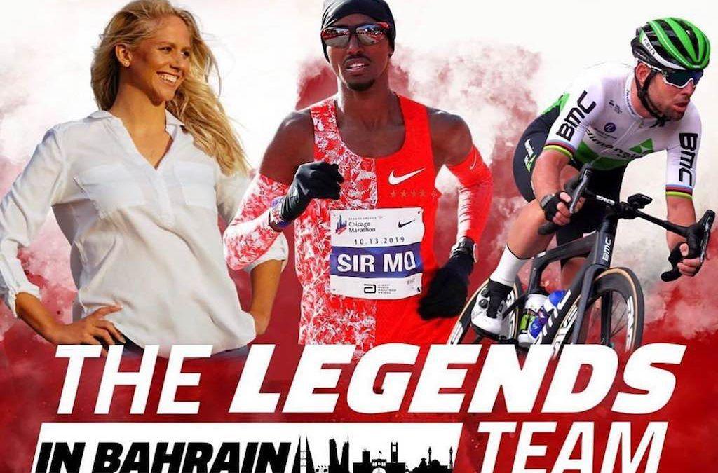 Mark Cavendish gaat aan triatlon doen… samen met Mo Farah in 70.3 Bahrein