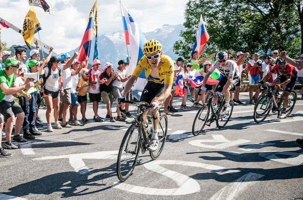 Tourwinnaar wil na zijn carriere Cam Wurf achterna en Ironman triatleet worden