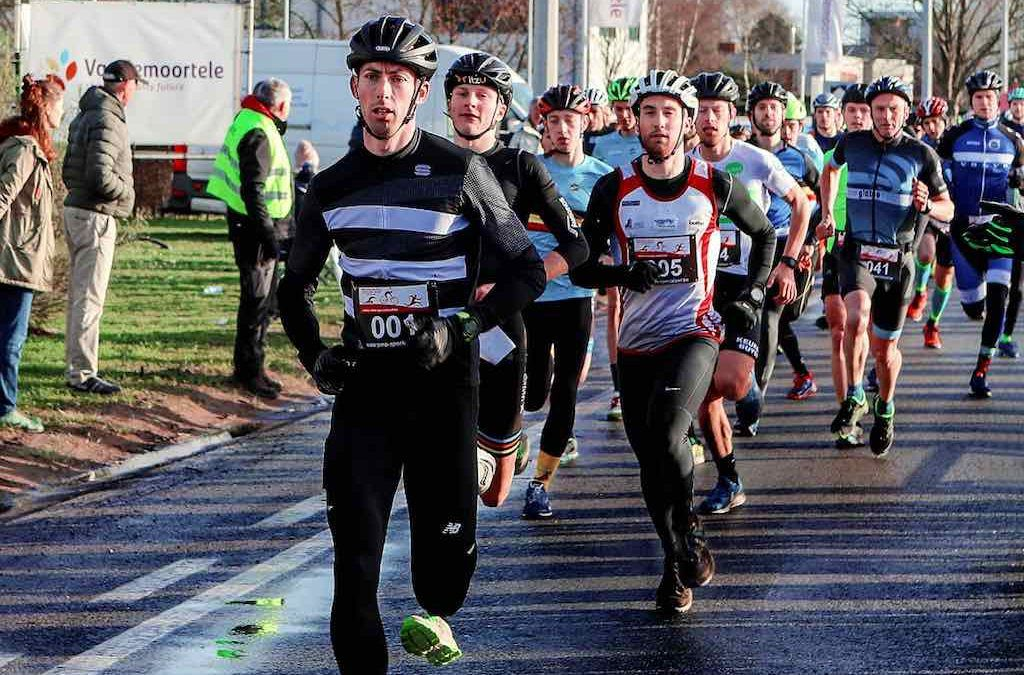 Broers Omey en Young Belgian Hammers winnen Run & Bike in Eeklo