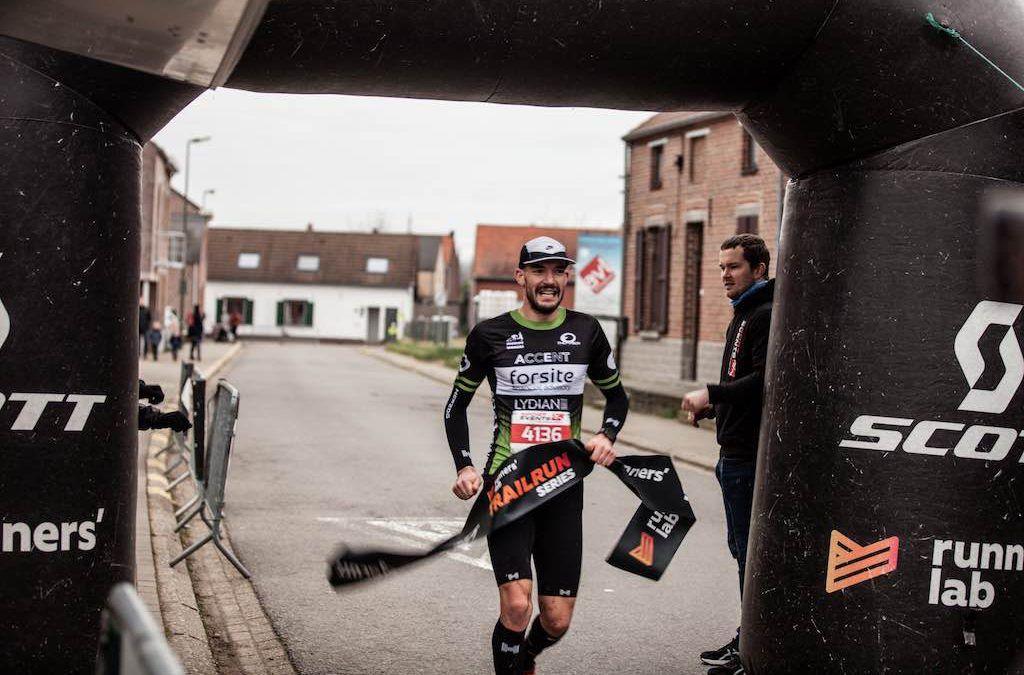 "Lukas Bosmans wint 18 km in Holsbeek: ""Ik mik voluit op de Ironman Hamburg"""
