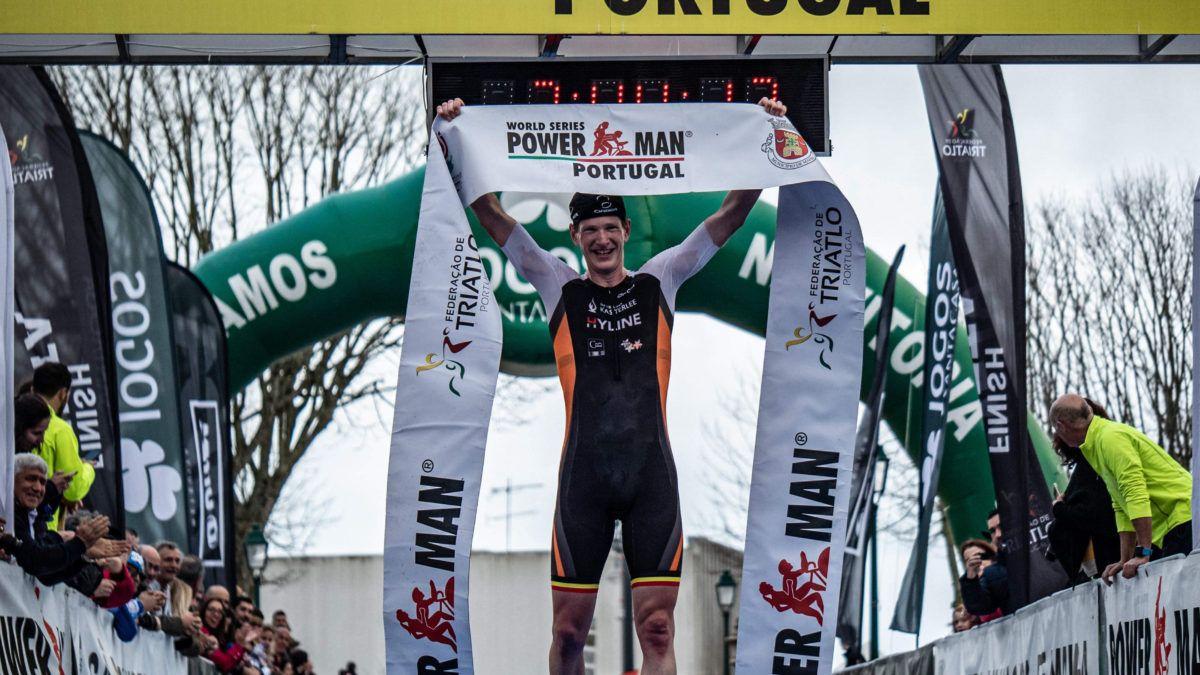 Seppe Odeyn wint eerste Powerman Portugal