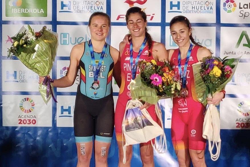 Jeugd grijpt medailles op het EK Duatlon in Punta Umbria