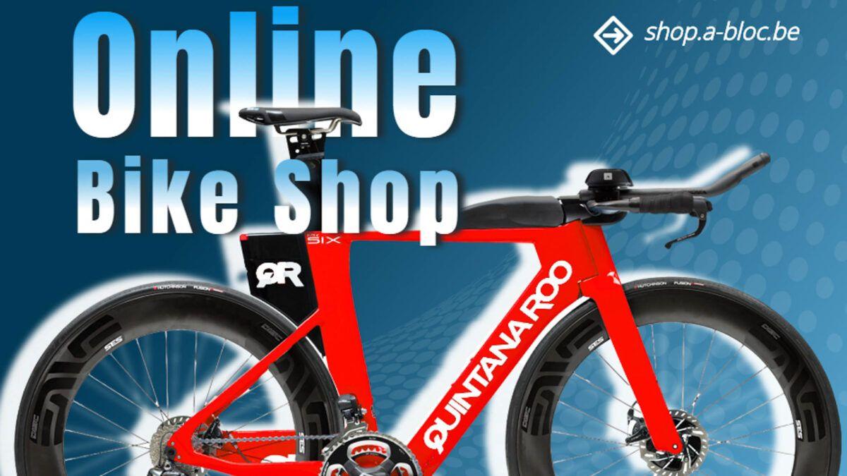 SHOP À BLOC, fietszaak gaat van start met eigen webshop