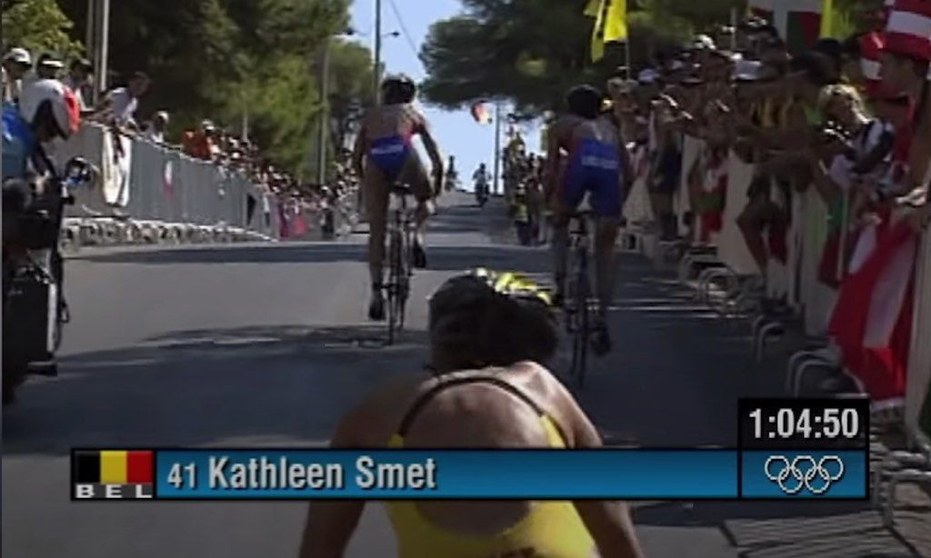"""TBT: Kathleen Smet dichtbij medaille in 2004: """"Denk vaak terug aan die 4de plaats"""""""