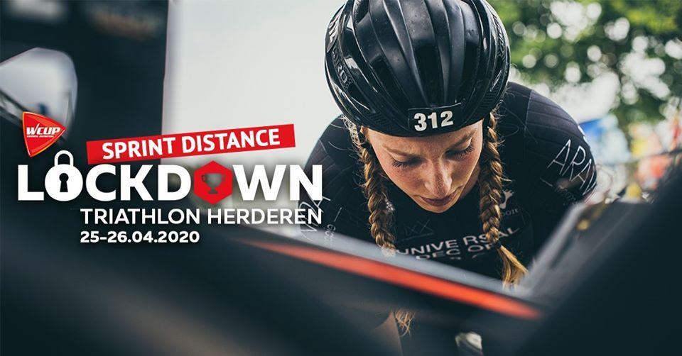 Schrijf nog snel in voor de eerste Lockdown Triathlon Challenge van Sportevents