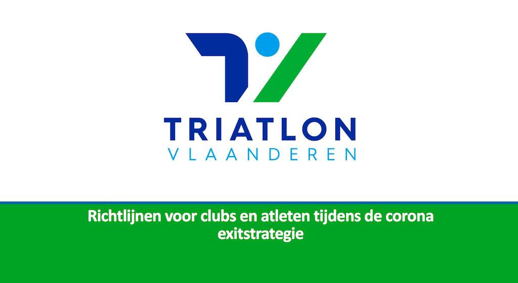 """Triatlon Vlaanderen over tweede fase: """"Overleg met overheid over open water"""""""