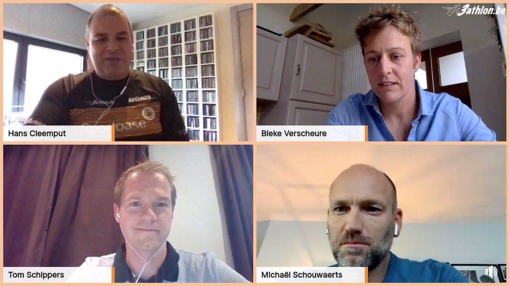 Herbeleef het allereerste 3athloncafe met Triatlon Vlaanderen – video