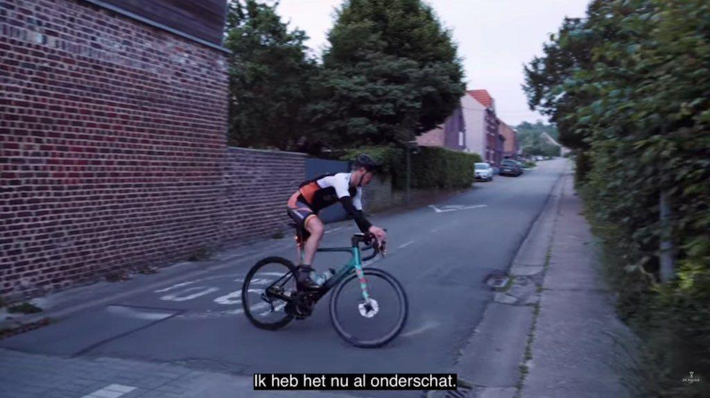 239 keer de Sigarenberg omhoog – Video van Seppe 'Everesting' Odeyn