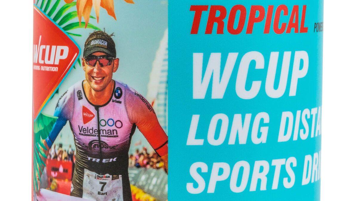 WCUP lanceert ideale sportdrank voor lange afstandsatleten