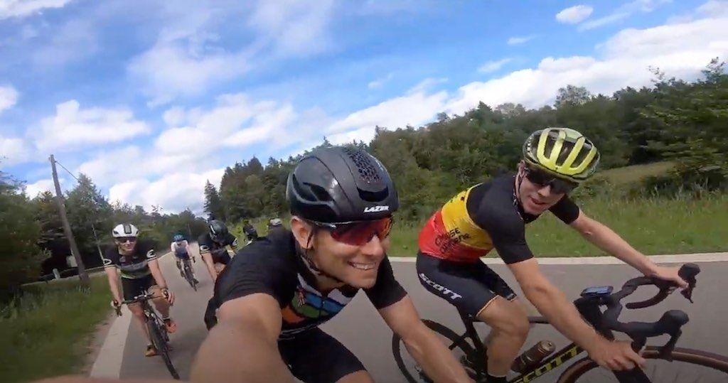Toptriatleet en Belgisch mountainbike kampioen vallen KOM op Redoute aan