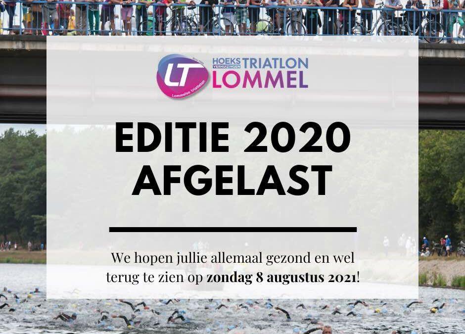 """Geen triatlon in Lommel in augustus """"Onvoldoende ruimte voor maatregelen"""""""