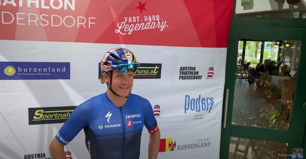 """Oostenrijkse triatleet wint """"jacht-triatlon"""" tegen Lange, Iden en Blummenfelt"""