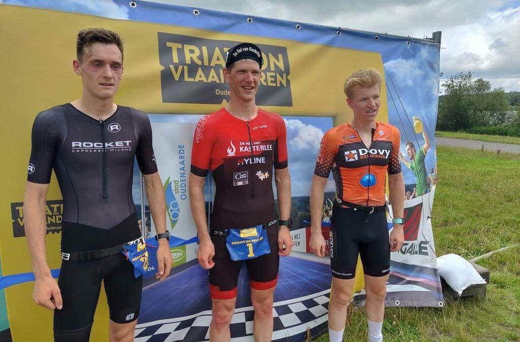 Seppe Odeyn en Maurine Ricour winnen Duatlon van Vlaanderen