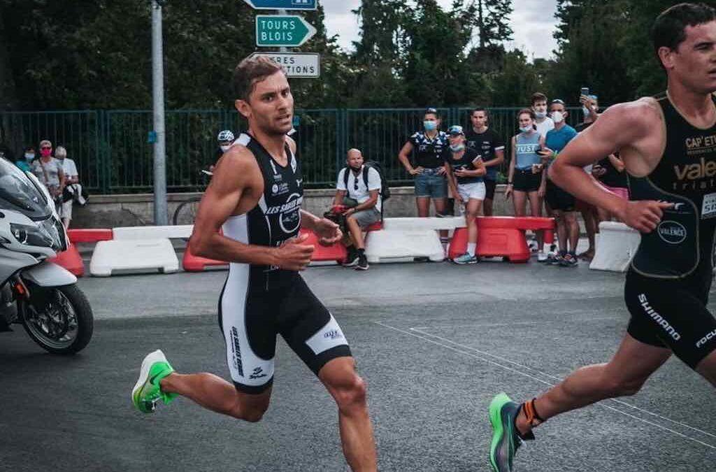 Eerste Franse GP triatlon lijkt wel WTS-race, Jelle Geens knap 7de