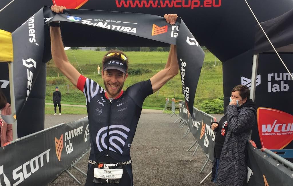 Tim Van Hemel pakt dubbel en wint Challenge de l'Ourthe in La Roche