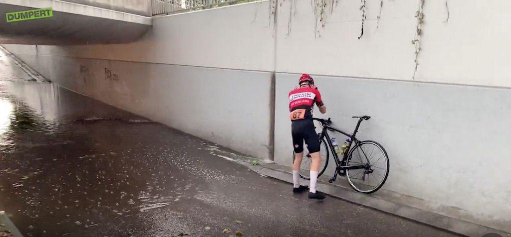 Waarom triatleten wel van een zomers onweer kunnen genieten…