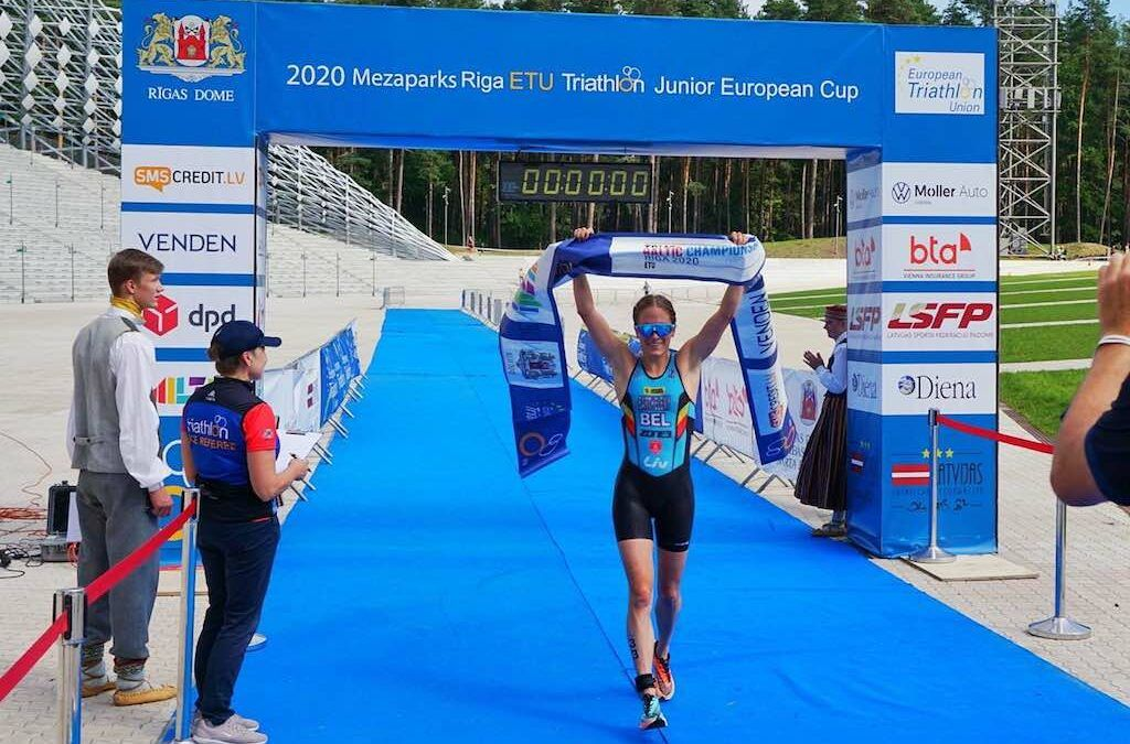 Eindelijk weer Belgische zege in internationale triatlon: Hammers domineren Baltisch kampioenschap