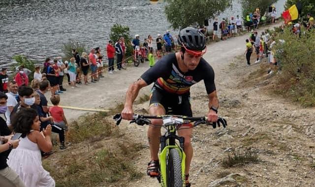 Belgisch kampioen cross-triatlon pakt eerste post-corona zege in Frankrijk