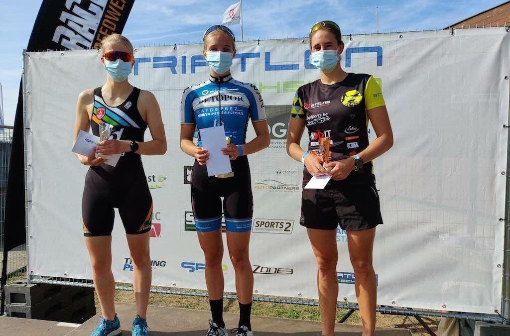 Ook Lisa Isebaert, triatlete van NLT, in finale Koers Zoekt Vrouw