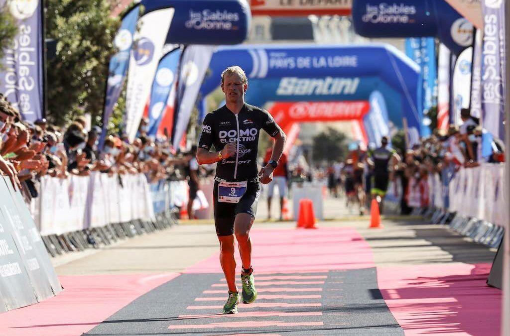 Pieter Heemeryck op podium en 4 Belgische triatleten in top 10 in 70.3 Ironman Sables d'Olonne