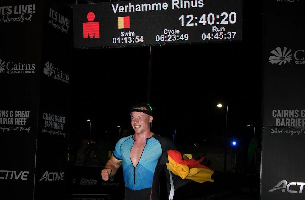 """Rinus van backpacker tot Ironman triatleet: """"Zwaar na werkdag van 9 uur op plantage nog 3 uur trainen"""""""