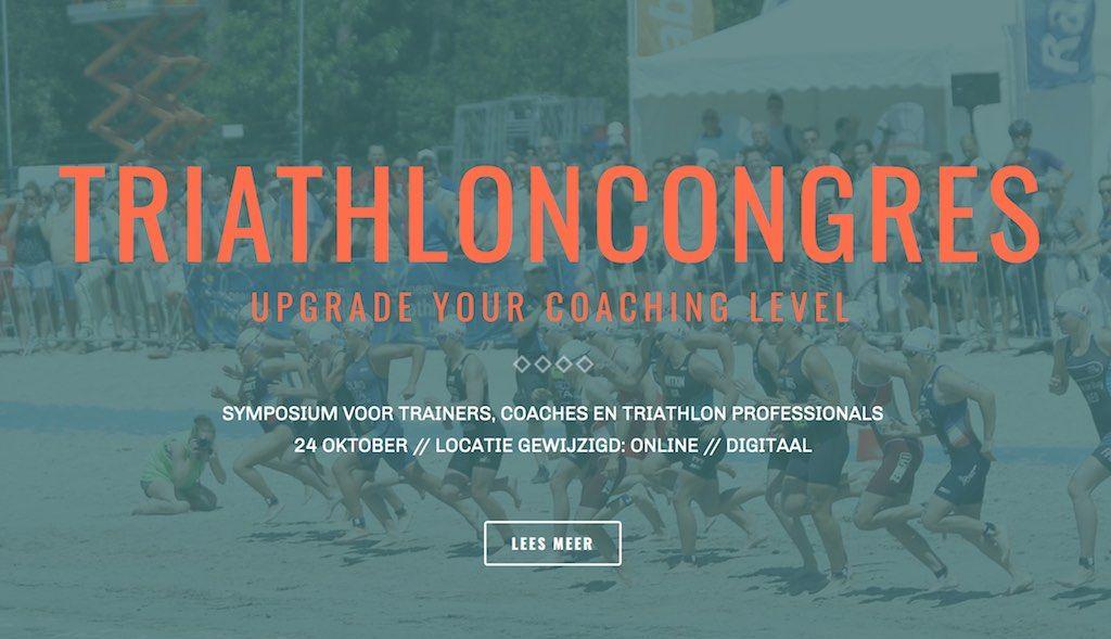 Triathloncongres gaat digitaal, online symposium met zelfde programma