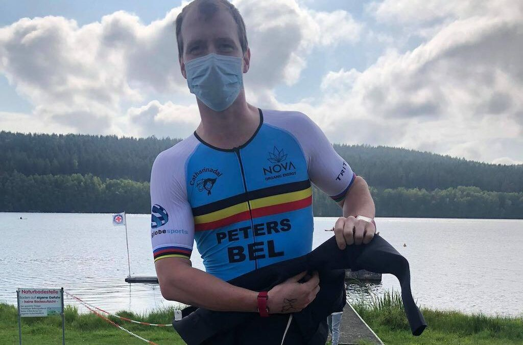 Triatlon met kajakken als vierde sport: William Peters 4de op WK quadratlon