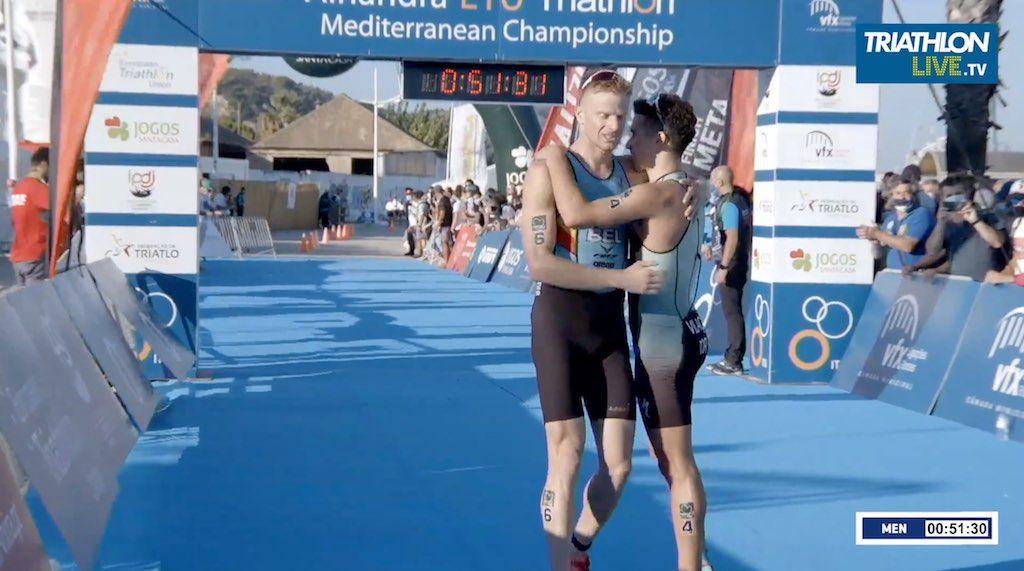 Twee Belgische triatleten op podium in Europabeker triatlon in Portugal