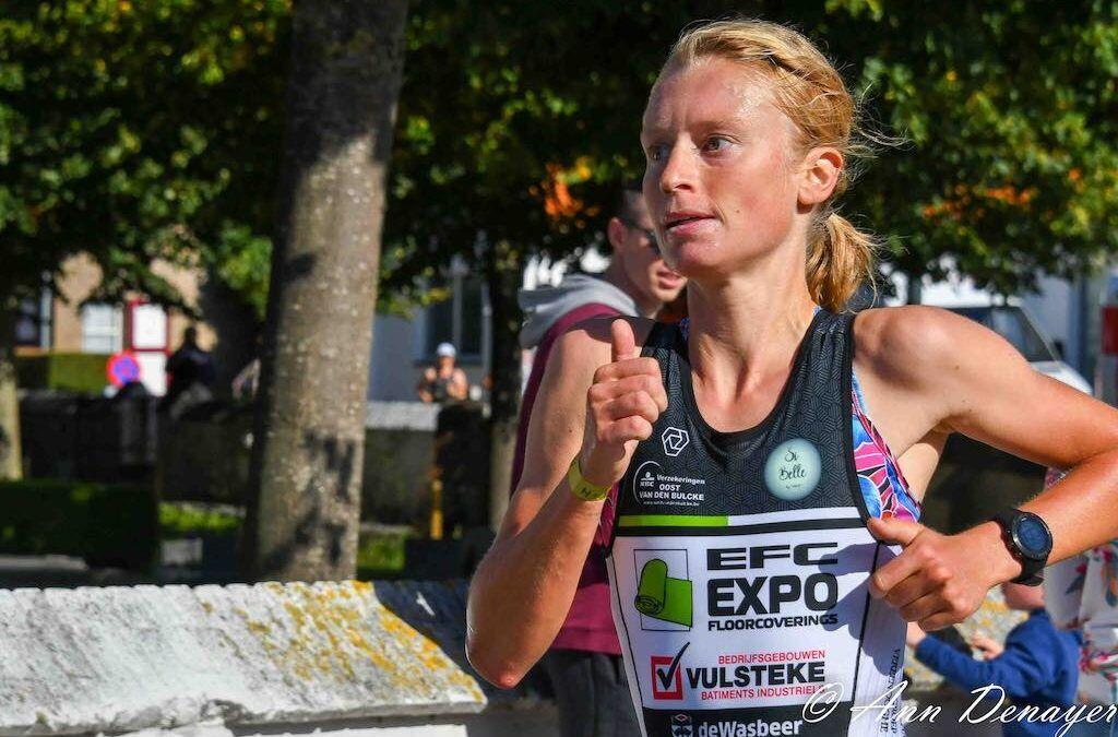"""Duatlonkampioene gaat wielrennen in 2021 """"Ik wil wel eens weten wat ik waard ben in het vrouwenpeloton"""""""