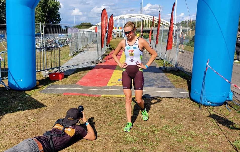 """Hanne De Vet mag uit quarantaine in Nieuw-Zeeland """"Ik kijk uit naar de triatlon wedstrijden hier"""""""
