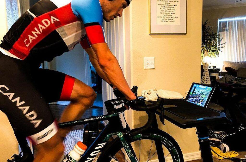 2 Championships op 1 week voor triatleet Lionel Sanders