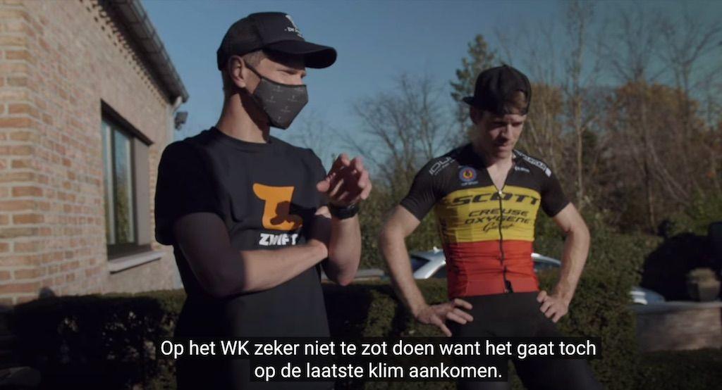 Seppe Odeyn geeft Jens Schuermans tips voor WK Zwift, ook triatleet Lionel Sanders in actie op WK