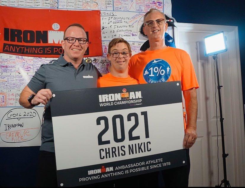 Triatleet met Down-syndroom Chris Nikic krijgt uitnodiging voor WK Ironman Hawaii