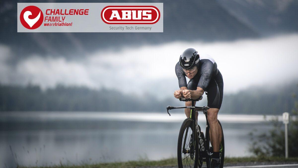 ABUS zet Triathlon ambities extra in de verf door samenwerking met Challenge Family aan te kondigen.