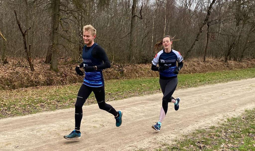Wie loopt er sneller dan Nick Renders en Elly Kerstens? Al 500 deelnemers aan Taxan[TRIA] winter challenge