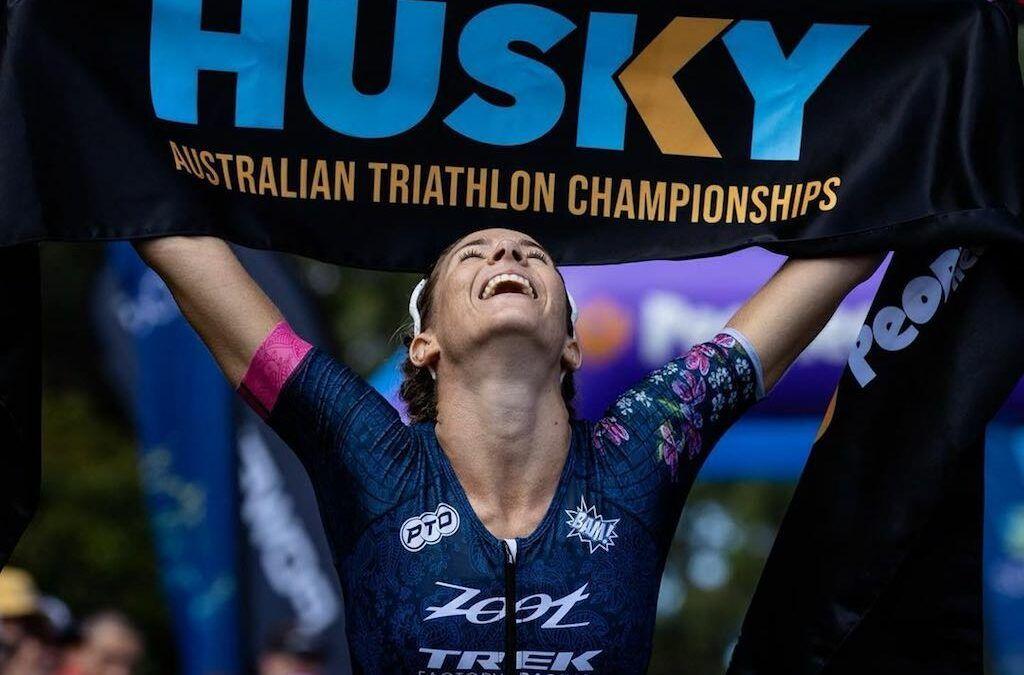 Wel triatlon in Australië: spannende strijd in Australisch kampioenschap halve triatlon