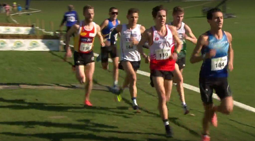 Jelle Geens en Arnaud Dely mee met kopgroep en in top-7 op BK veldlopen
