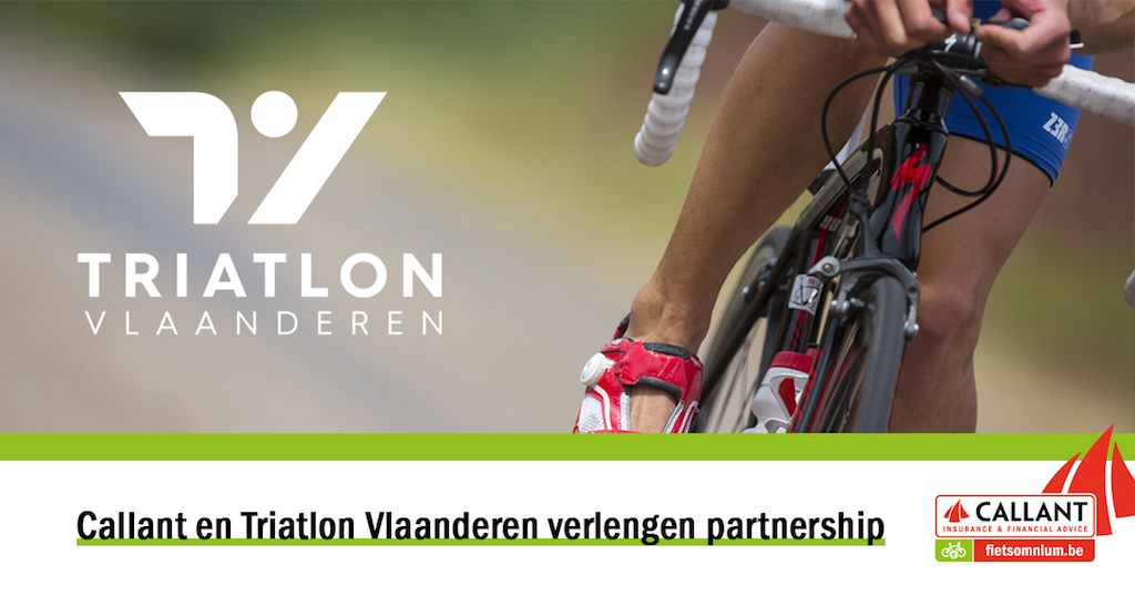 Callant blijft sponsoring in triatlon verderzetten, contract met 3VL voor 4 jaar verlengd