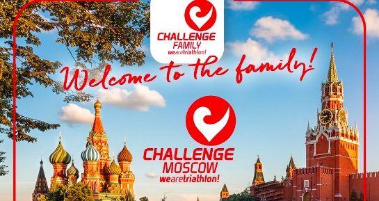 Challenge trekt voor het eerst naar Rusland: gloednieuwe halve triatlon in Moskou in juli 2021