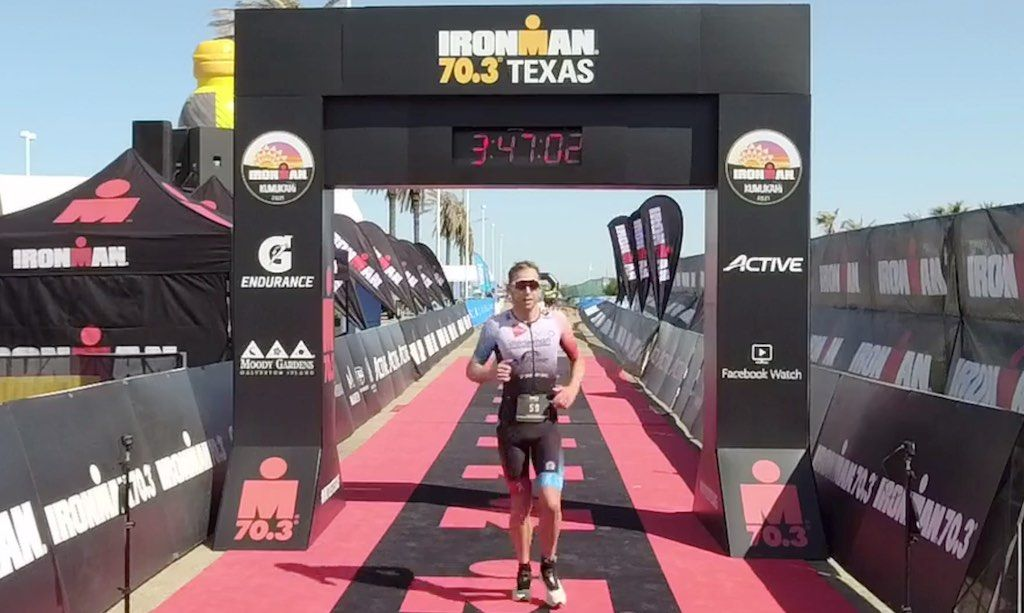 Triatleet Bart Aernouts wordt knap zesde in sterkbezette 70.3 Ironman Texas