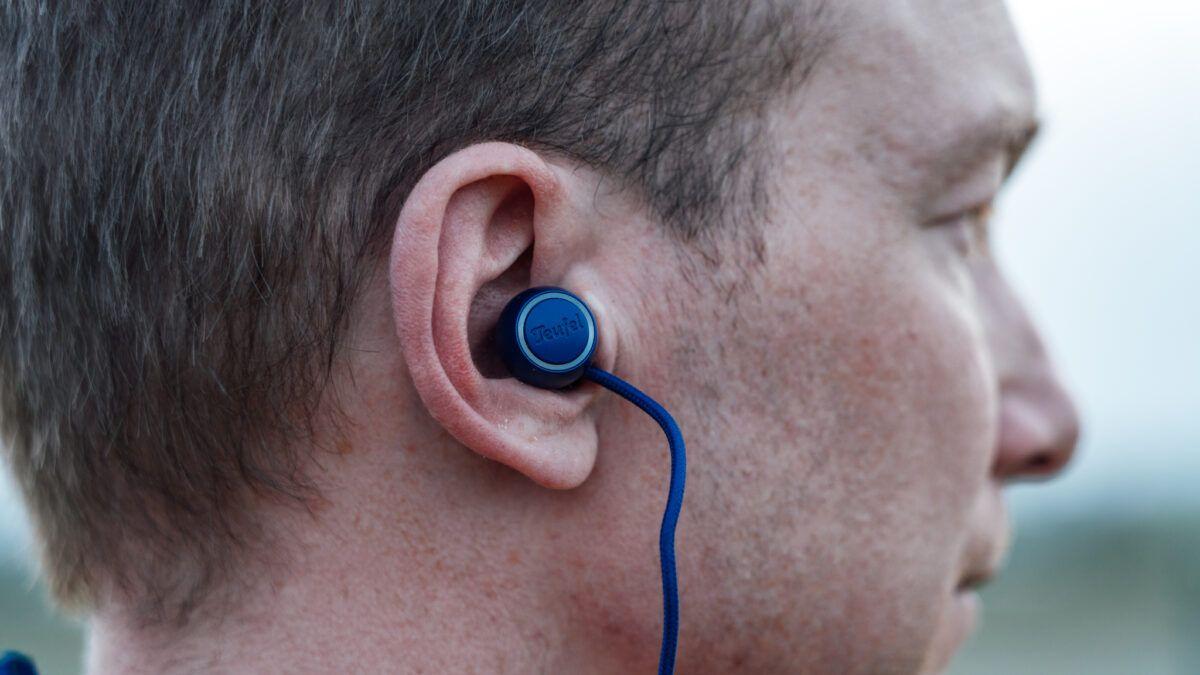 Teufel Supreme In, compacte in-ear hoofdtelefoon voor tijdens je trainingssessies.