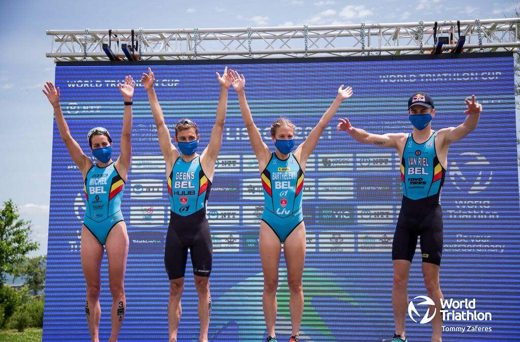 """4 Belgische triatleten op de Olympische Spelen """"Dominante zege geeft vertrouwen en motivatie voor Tokio"""""""