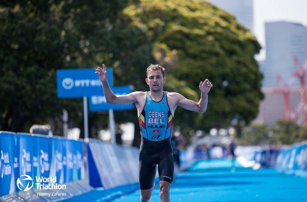Herbeleef de topprestaties van de Belgian Hammers in de triatlon van Yokohama – highlights video