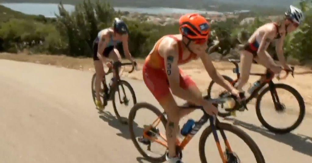 Klim met 17% stijgingspercentage zorgt voor grote verschillen in World Cup triatlon Arzachena
