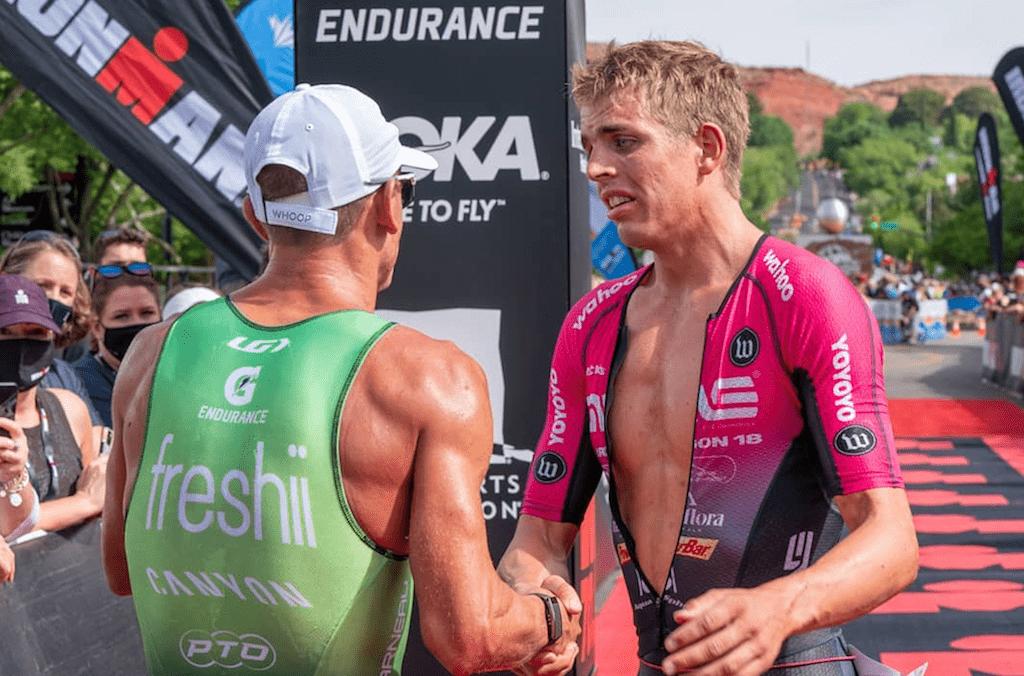 Overlijden van triatleet overschaduwt winst van Sanders en Ryf in drukke 70.3 Ironman St-George