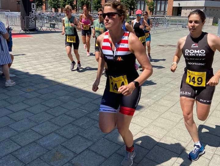 Alexis Krug en Kaat Van Eynde beste duatleten in Watermolen-triatlon Hamme