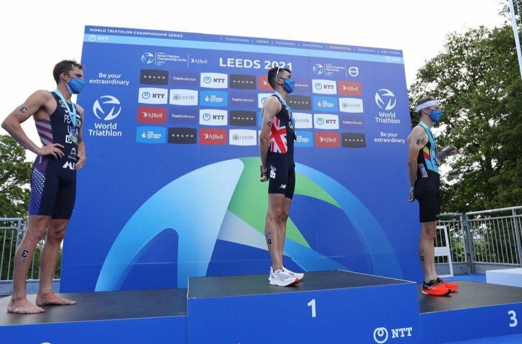 """Marten Van Riel na 3de plaats in WTCS Leeds: """"Laten zien dat ik het ook in het lopen kan afmaken"""""""