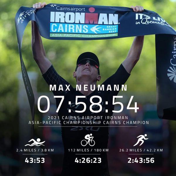 Belgisch getinte sub-8 overwinning in Ironman Cairns