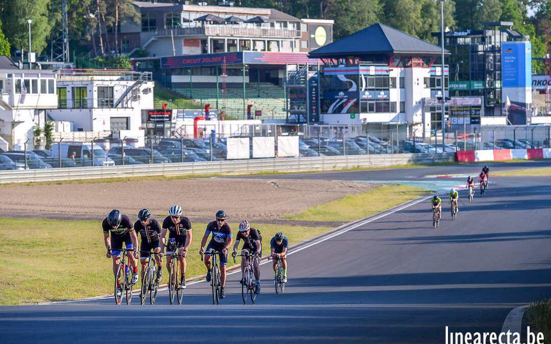 Meer dan 130 enthousiaste triatleten op circuit Zolder tijdens eerste training day