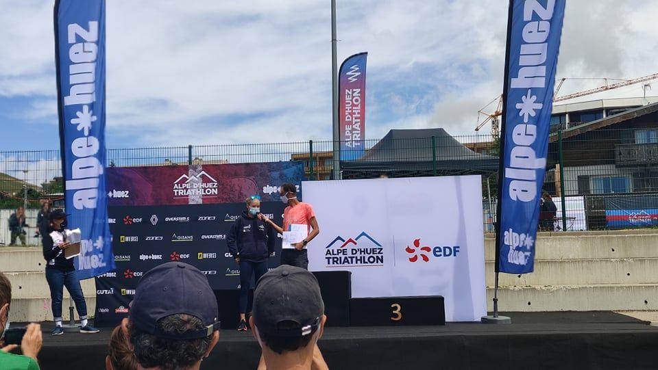 """Alexandra Tondeur en Timothy Van Houtem klaar voor triathlon large: """"Alpe d'Huez is als tweede thuis"""""""